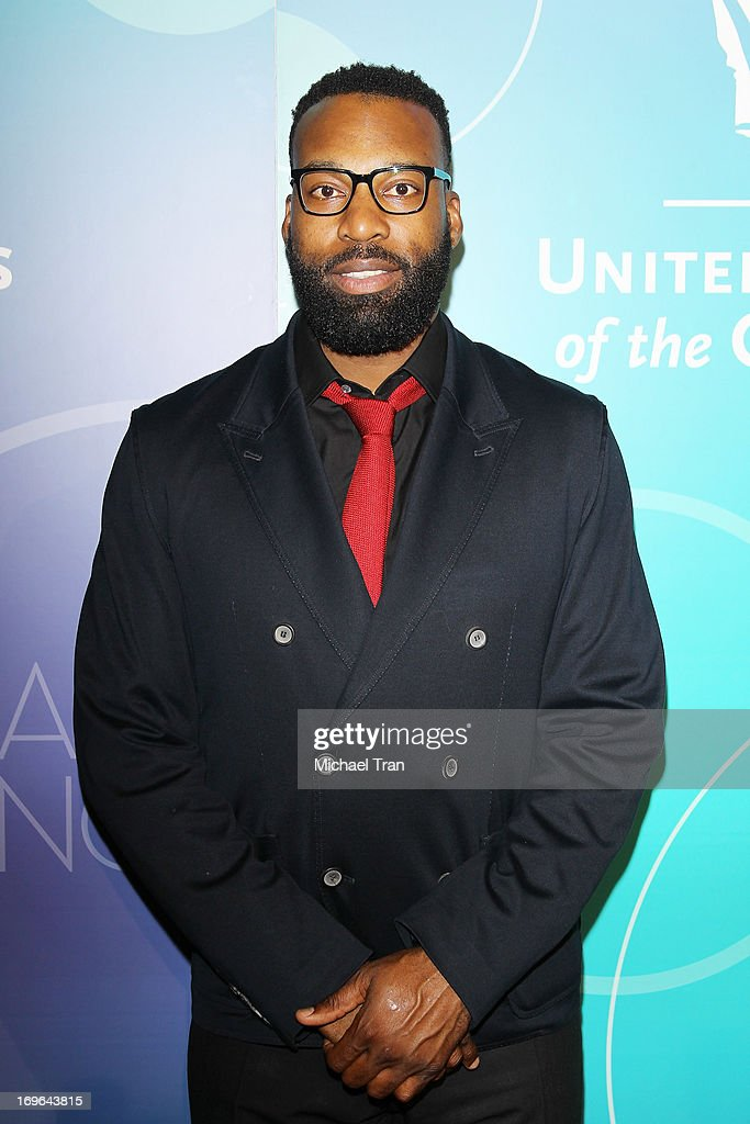 <a gi-track='captionPersonalityLinkClicked' href=/galleries/search?phrase=Baron+Davis&family=editorial&specificpeople=201592 ng-click='$event.stopPropagation()'>Baron Davis</a> arrives at the United Friends of the Children Brass Ring Awards 2013 held at The Beverly Hilton Hotel on May 29, 2013 in Beverly Hills, California.