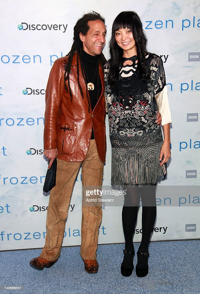 Baron Leandro and <a gi-track='captionPersonalityLinkClicked' href=/galleries/search?phrase=Irina+Pantaeva&family=editorial&specificpeople=204164 ng-click='$event.stopPropagation()'>Irina Pantaeva</a> attend the 'Frozen Planet' premiere at Alice Tully Hall, Lincoln Center on March 8, 2012 in New York City.