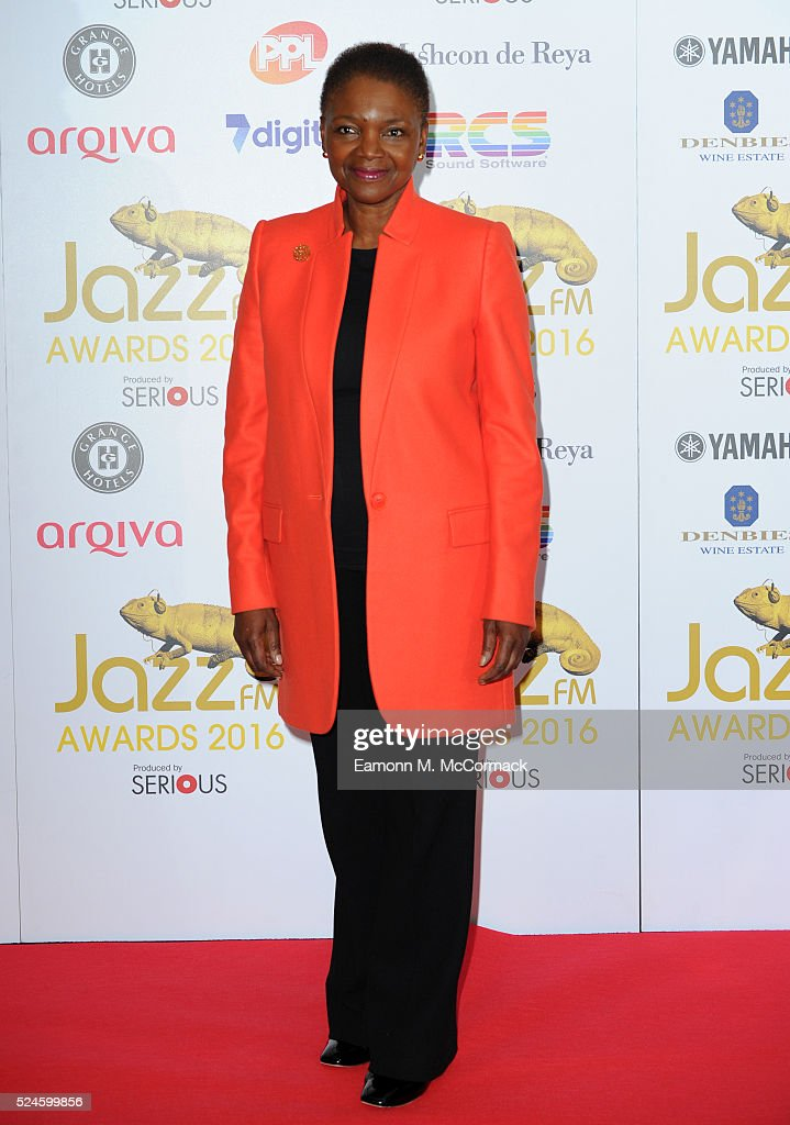 Baroness Amos at the Jazz FM Awards 2016 at Bloomsbury Ballroom on April 26 2016 in London England