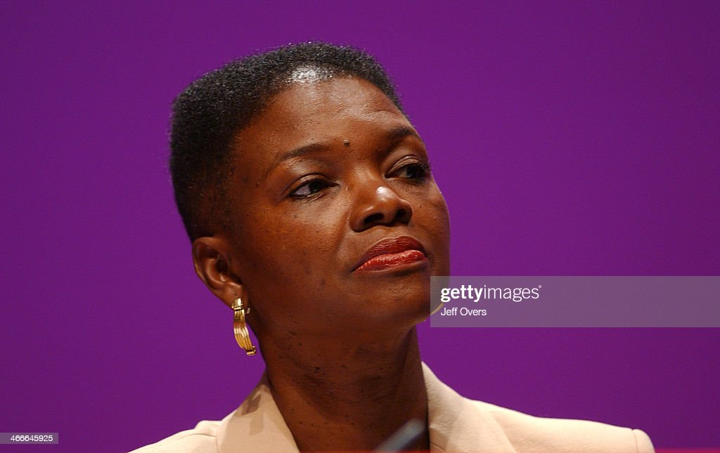 Baroness Amos at the Labour Party conference in Bournemouth 2003