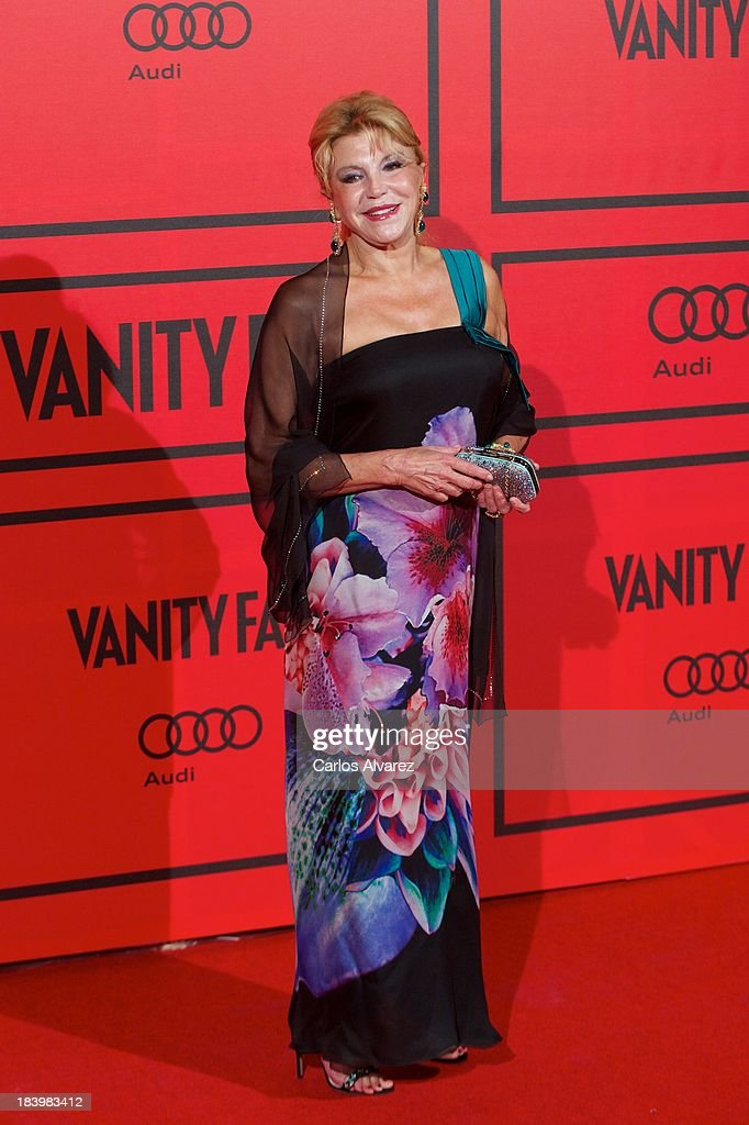 Baroness Carmen Thyssen-Bornemisza attends the Vanity Fair 5th anniversary paty at the Santa Coloma Palace on October 10, 2013 in Madrid, Spain.