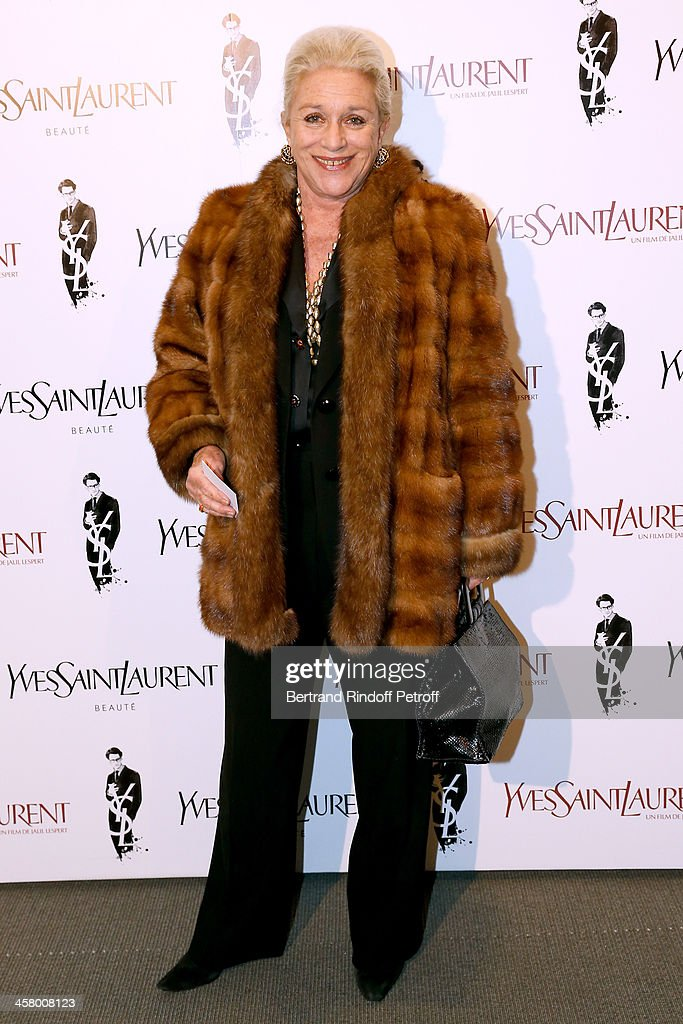 Baroness Helene von Ludinghausen attends the 'Yves Saint Laurent' Paris movie Premiere at Cinema UGC Normandie on December 19, 2013 in Paris, France.
