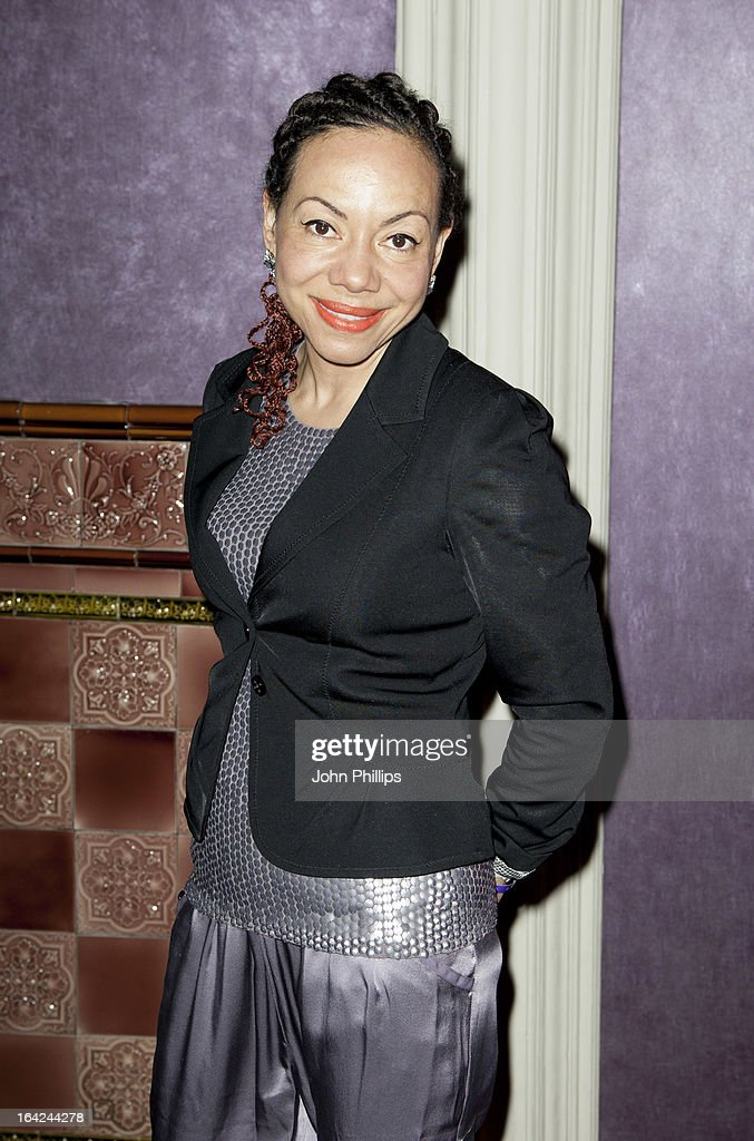 Baroness Oona King attends opening of ZSL London Zoo's new exhibit which features critically endangered Sumatran tigers at on March 21, 2013 in London, England.