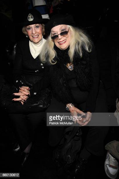 Baroness Sherry von KorberBernstein and Sylvia Miles attend ROGER PADILHA MAURICIO PADILHA Celebrate Their Rizzoli Publication THE STEPHEN SPROUSE...
