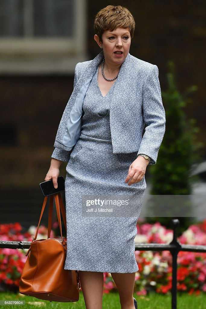 Baroness Stowell of Beeston, Lord Privy Seal, Leader of the House of Lords arrives for a cabinet meeting at Downing Street on June 27, 2016 in London, England. British Prime Minister David Cameron is due to chair an emergency Cabinet meeting this morning, after Britain voted to leave the European Union. Chancellor George Osborne spoke at a press conference ahead of the start of financial trading and outlining how the Government will 'protect the national interest' after the UK voted to leave the EU.