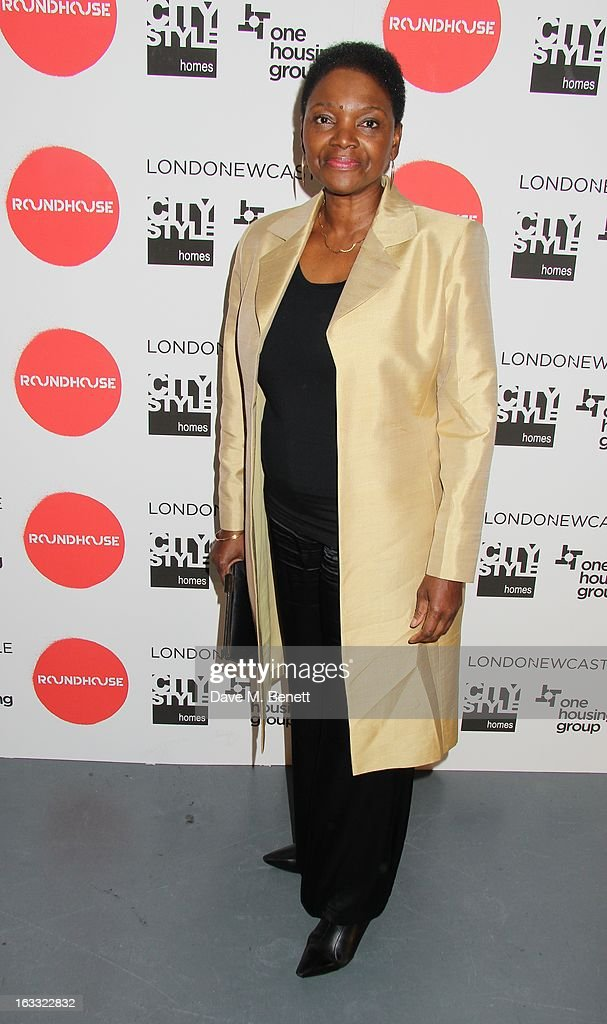 Baroness Valerie Amos attends the Roundhouse Gala Evening 2013 at The Roundhouse on March 7 2013 in London England