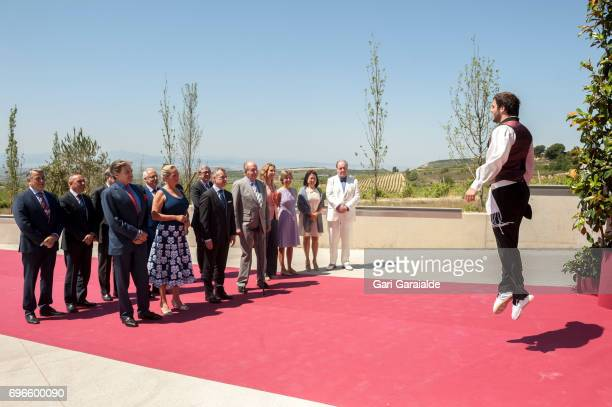 Baronne Benjamin de Rothschild Ariane de Rothschild President of the Basque regional government Inigo Urkullu King Juan Carlos Princess Elena of...