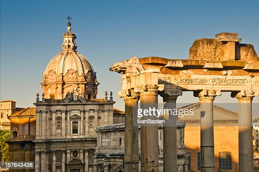Baroque and antique Rome