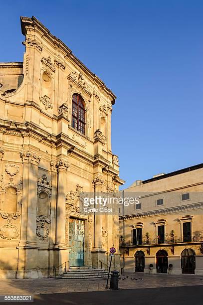 Baroque church, Lecce, Puglia