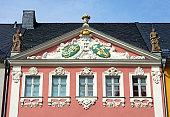 Baroque house Siegertsche Haus Chemnitz, Saxony, Germany