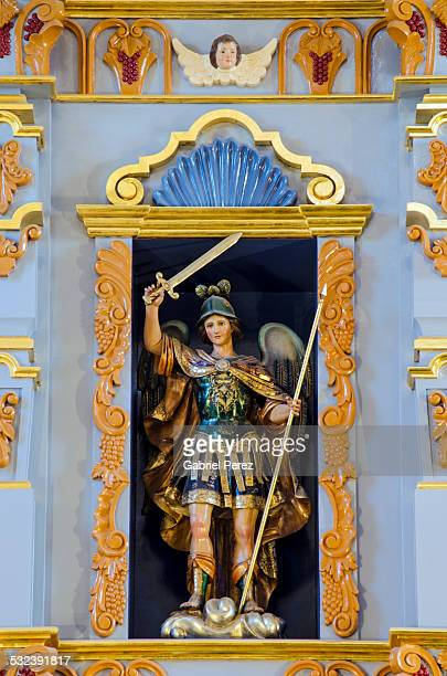 A Baroque Statue of Archangel Michael