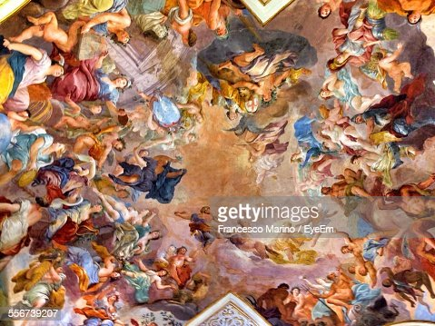 Baroque Style Painted Ceiling