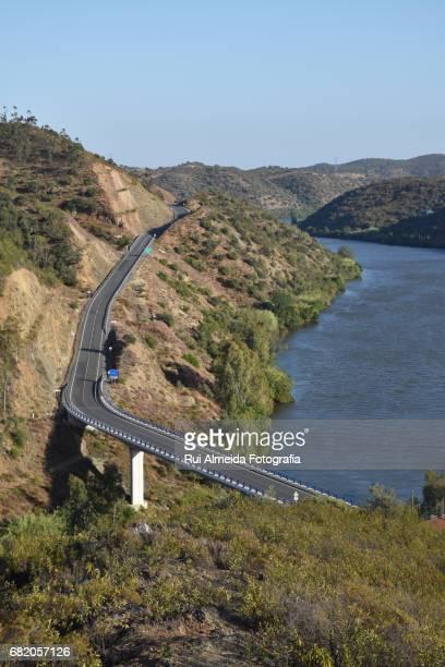 Barragem do Pomarão, Mértola, fronteira entre Portugal e Espanha