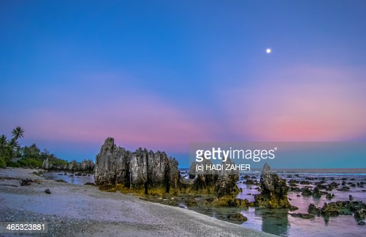 Barren Beauty | Anibare Beach | Nauru : Stock Photo