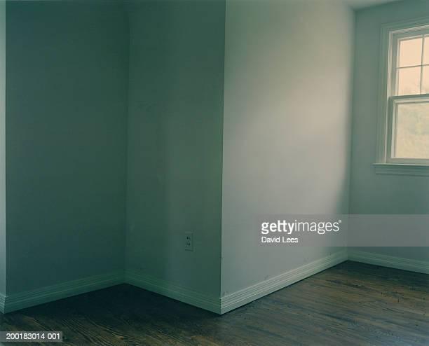 Barren room in house