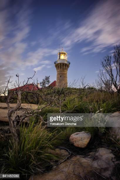 Barrenjoey Lighthouse at Night, Palm Beach