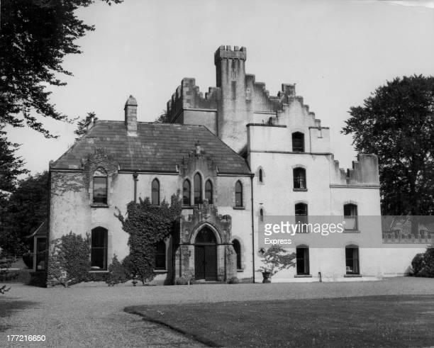 Barretstown Castle purchasedby business woman Elizabeth Arden Ballymore Eustace County Kildare Ireland circa 1962