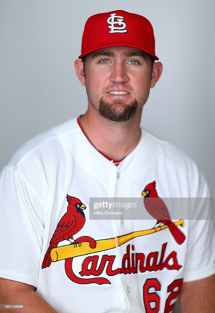 Barrett Browning #62 of the St. Louis Cardinals poses during photo day at Roger Dean Stadium on February 19, 2013 in Jupiter, Florida.
