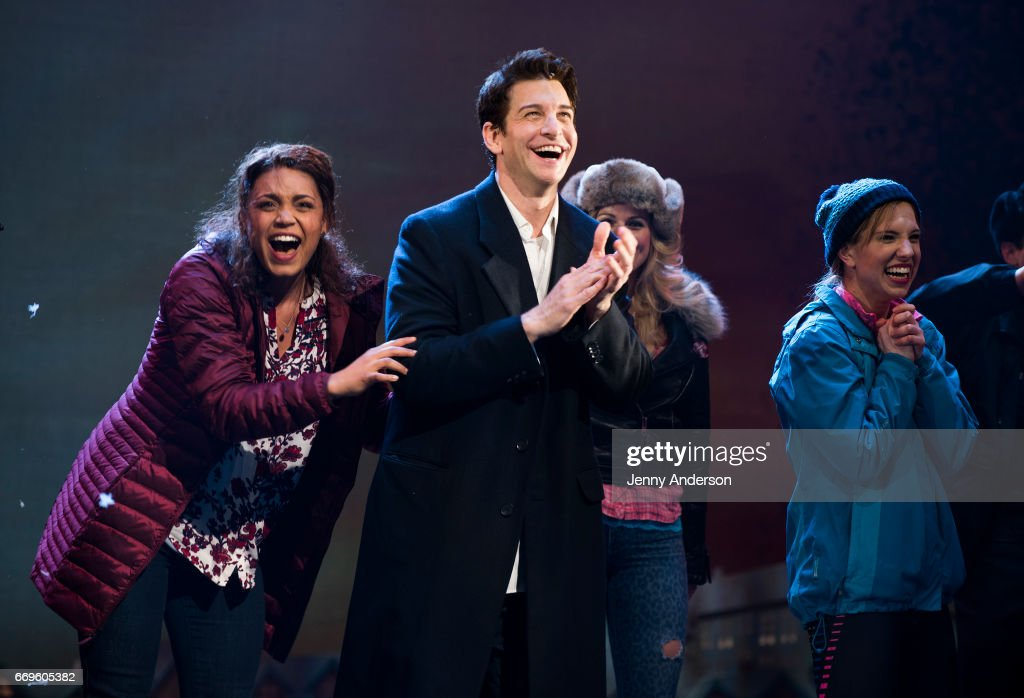 """""""Groundhog Day"""" Broadway Opening Night - Arrivals & Curtain Call"""