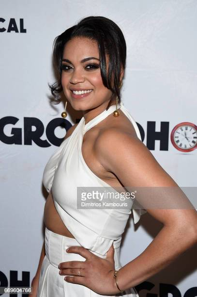 Barrett Doss attends the 'Groundhog Day' Broadway Opening Night at Gotham Hall on April 17 2017 in New York City
