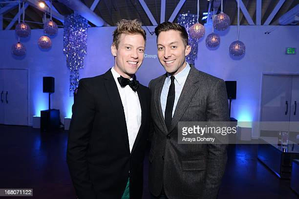 Barrett Foa and Chad Hodge attend the 'Dancing For NED' benefit for the Cedars Sinai Women's Cancer Program on May 4 2013 in Los Angeles California