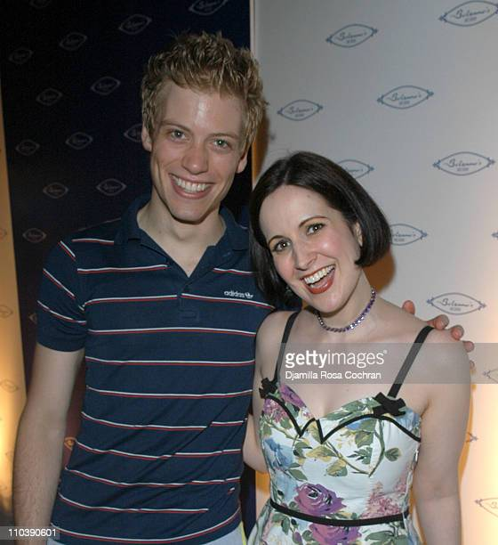 Barrett Foa and Stephanie D'Abruzzo during Opening of Marc Packer's Bolzano's at Bolzano's in New York City New York United States