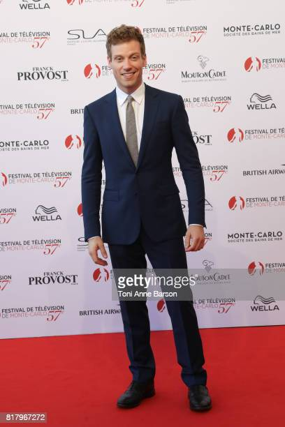 Barrett Foa arrives at the Opening Ceremony of the 57th Monte Carlo TV Festival and World premier of Absentia Serie on June 16 2017 in MonteCarlo...