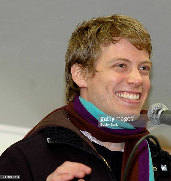 Barrett Foa during Broadway Stars Rally for Paper Mill Playhouse to Save Theater from Closing Doors April 9 2007 at Paper Mill Playhouse in Millburn...
