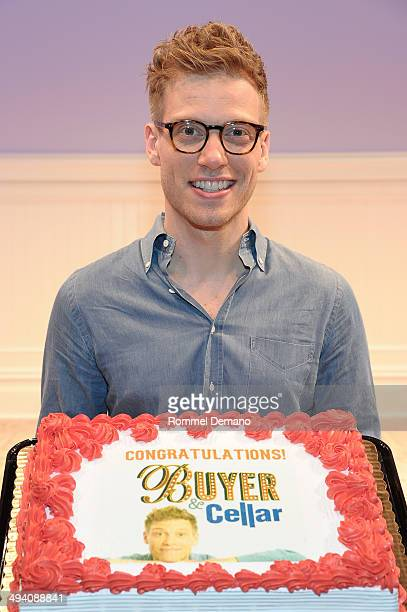 Barrett Foa joins The Cast of 'Buyer Cellar' at the Barrow Street Theatre on May 27 2014 in New York City