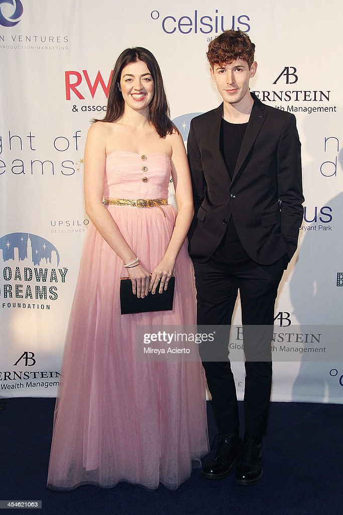 Barrett Wilbert Weed and Blake Daniel attend the 2013 Broadway Dreams Foundation's 'Night Of Dreams' gala at Celsius on December 9, 2013 in New York City.