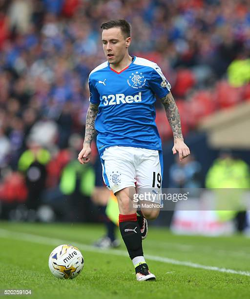 Barrie McKay of Rangers during the Petrofac Training Cup Final between Rangers and Peterhead at Hampden Park on April 10 2016 in Glasgow Scotland