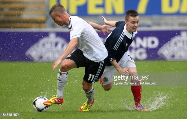 Barrie McKay Scotland and Yannick Gerhardt Germany