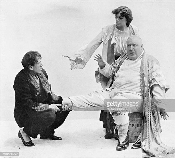 J M Barrie 'The Admirable Crichton' comedy written in 1902 Gerald du Maurier as The Hon Ernest Woolley Dame Irene Vanbrugh as Lady Mary Lasenby and...