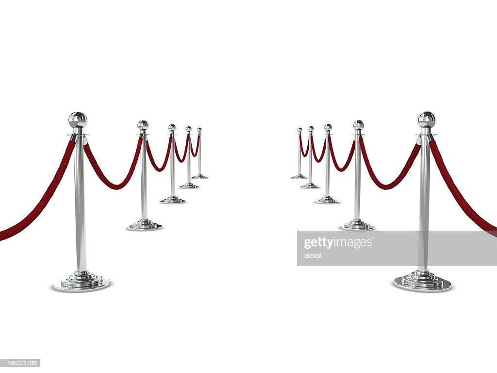 Barrier Rope : Stock Photo