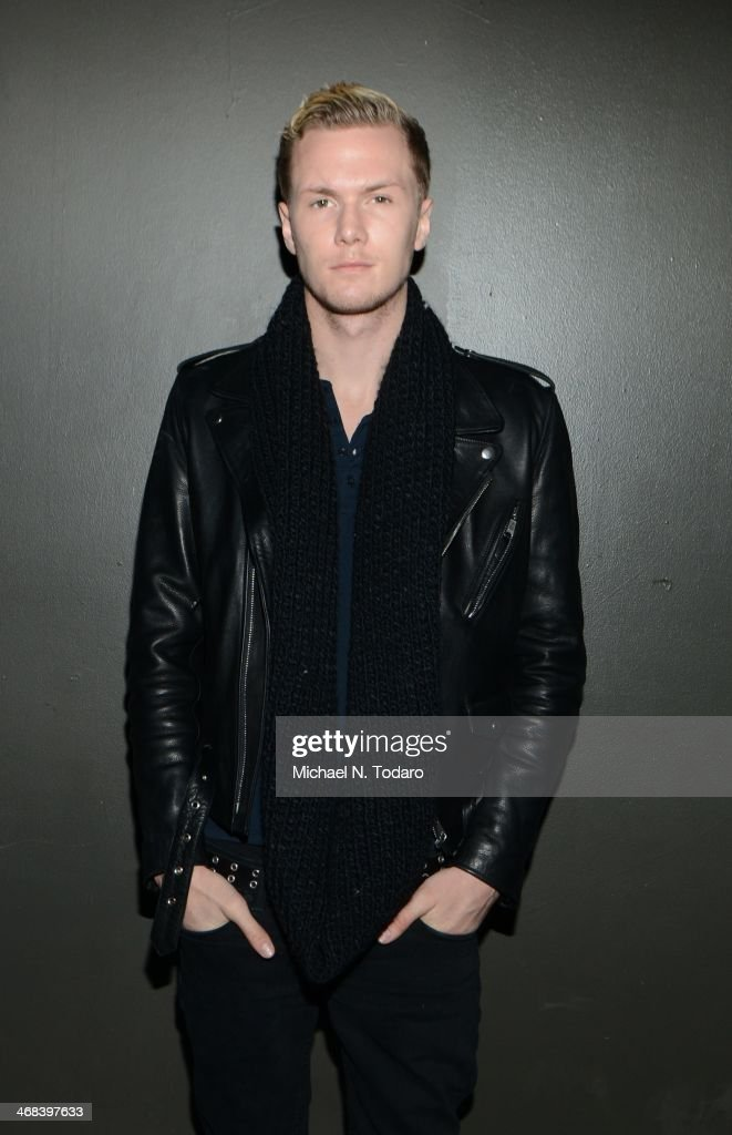 Barron Hilton attends the Alon Livne presentation during Mercedes-Benz Fashion Week Fall 2014 at The Hub at The Hudson Hotel on February 10, 2014 in New York City.