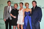 Barron Nicholas Hilton Kathy Hilton Nicky Hilton Paris Hilton and Rick Hilton attend the Chopard 150th Anniversary Party at Palm Beach Pointe...