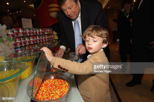 Barron Trump attends the 18th Annual Bunny Hop at FAO Schwartz on March 3 2009 in New York City