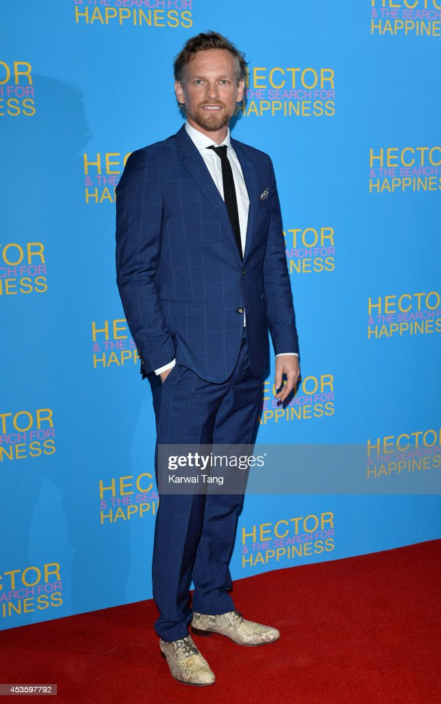 Barry Atsma attends the UK Premiere of 'Hector And The Search For Happiness' at Empire Leicester Square on August 13, 2014 in London, England.