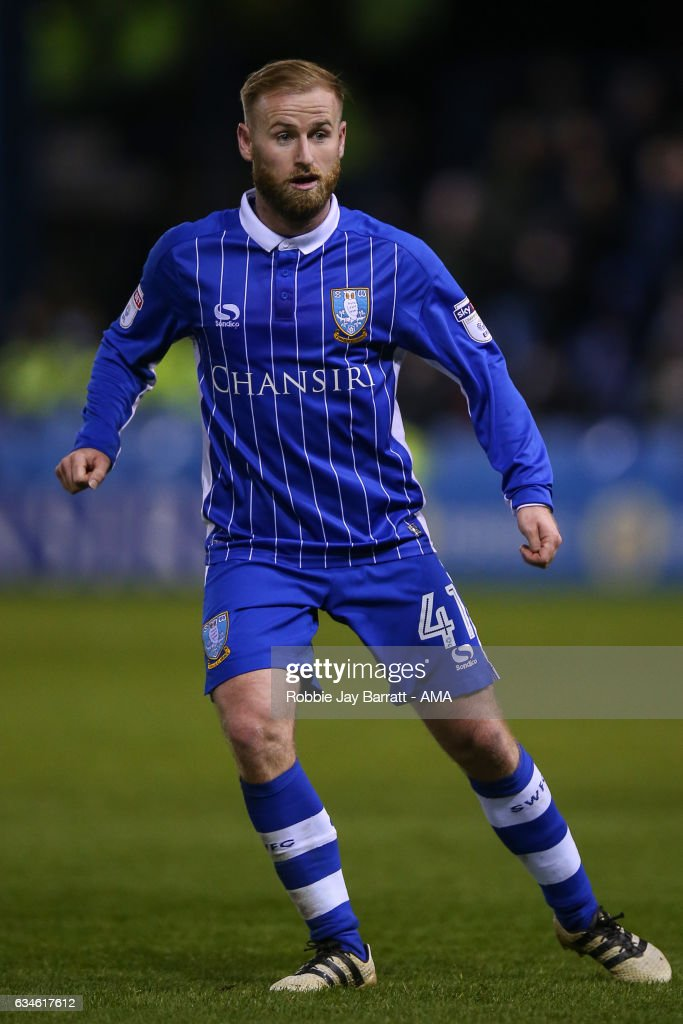 Barry Bannan of Sheffield Wednesday during the Sky Bet Championship match between Sheffield Wednesday and Birmingham City at Hillsborough on February 10, 2017 in Sheffield, England.