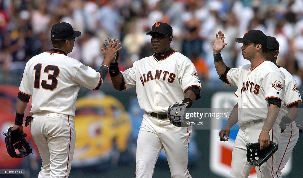 New York Mets vs San Francisco Giants - August 22, 2004
