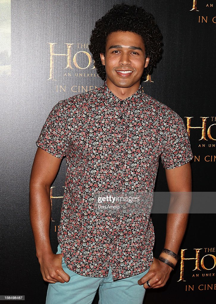Barry Conrad attends the Sydney premiere of 'The Hobbit: An Unexpected Journey' at George Street V-Max Cinemas on December 18, 2012 in Sydney, Australia.