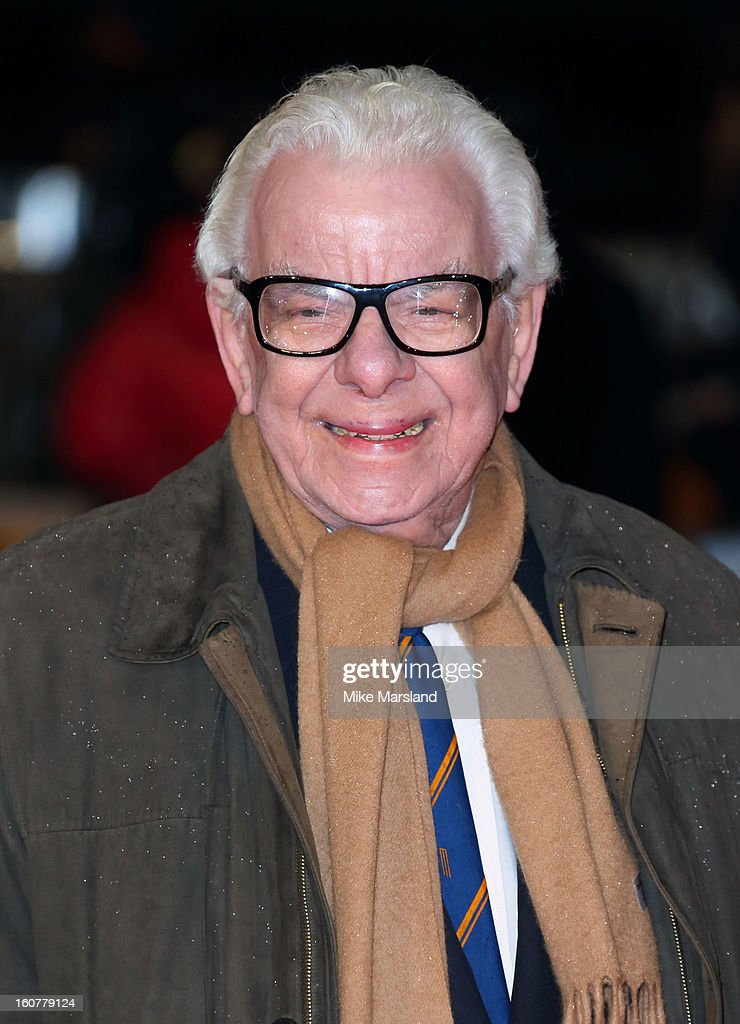 Barry Cryer attends the UK Premiere of 'Run For Your Wife' at Odeon Leicester Square on February 5, 2013 in London, England.