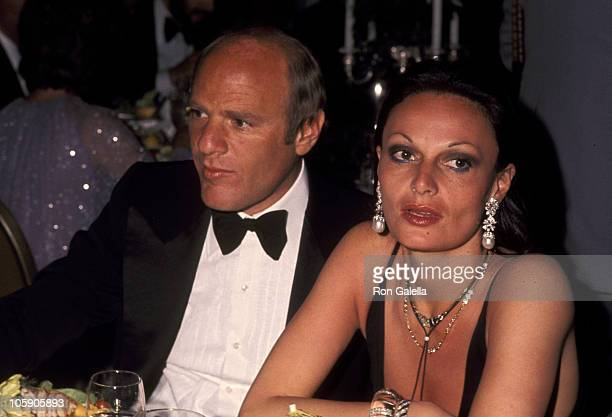 Barry Diller and Diane Von Furstenberg during 'Family Plot' Los Angeles Premiere at Century Plaza in Los Angeles California United States