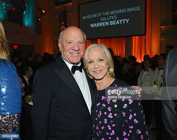 Barry Diller and Linda Janklow attend the Museum Of The Moving Image 30th Annual Salute Honoring Warren Beatty at 583 Park Avenue on November 2 2016...