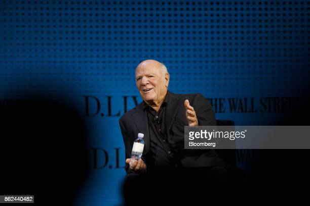 Barry Diller chairman and chief executive officer of IAC/InterActiveCorp speaks during the Wall Street Journal DLive global technology conference in...