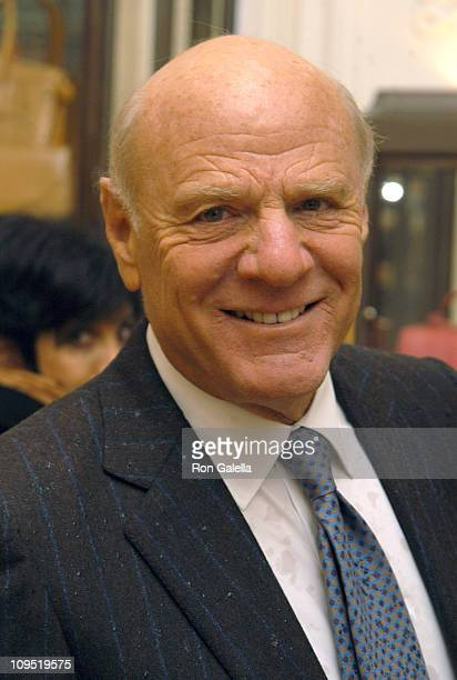Barry Diller during Bergdorf Goodman And Assouline Celebrate The Launch of Diane Von Furstenberg's New Book 'The Wrap' at Bergdorf Goodman in New...