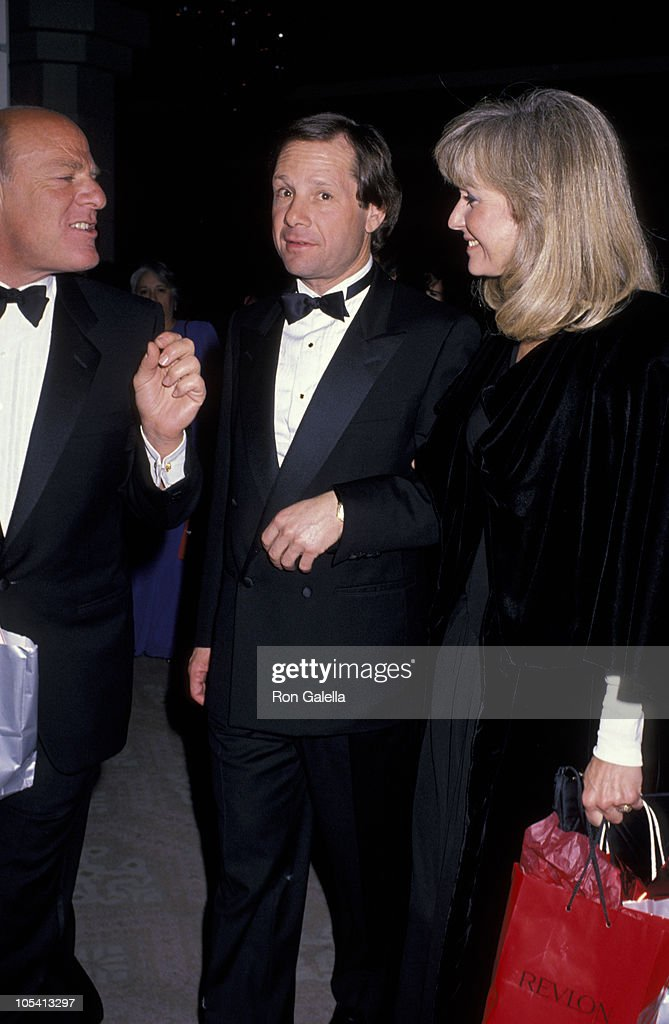 Barry Diller Michael Ovitz and Judy Ovitz during 1st Annual Fire and Ice Ball to Benefit Revlon UCLA Women Cancer Center at Beverly Hilton Hotel in...