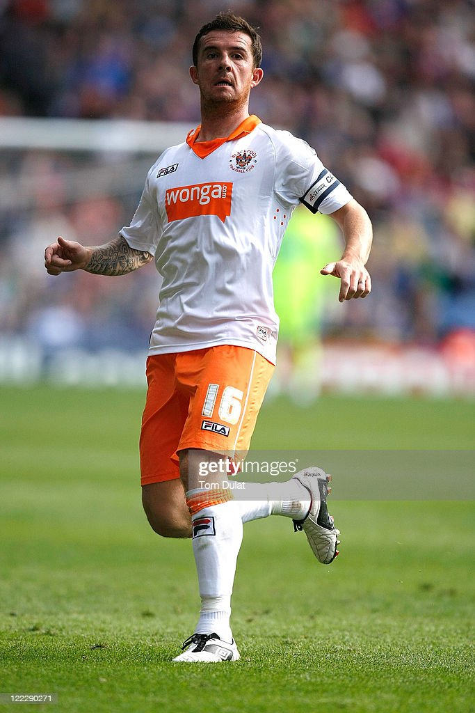 Barry Ferguson of Blackpool in action during the npower Championship match between Crystal Palace and Blackpool at Selhurst Park on August 27 2011 in...