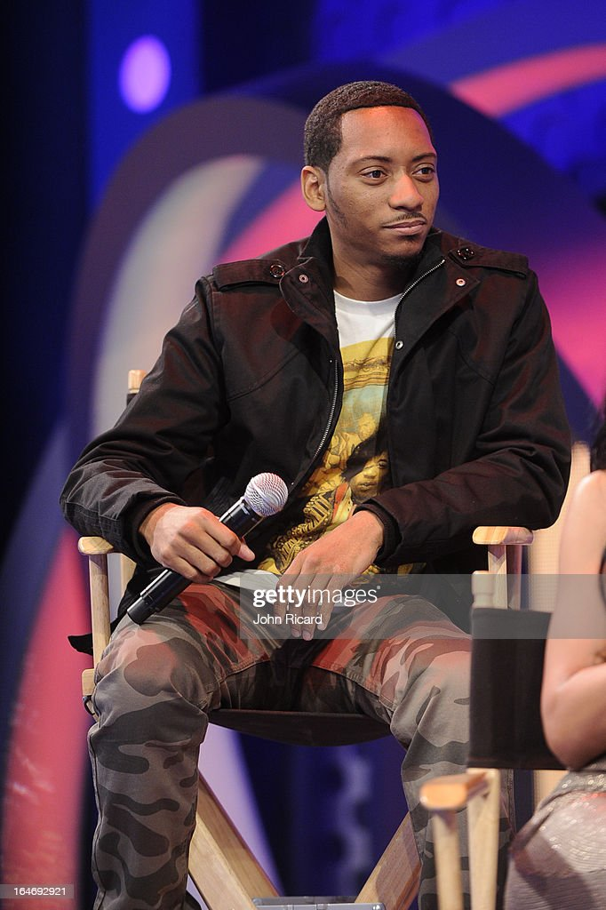 Barry Floyd visits BET's 106 & Park at BET Studios on March 26, 2013 in New York City.