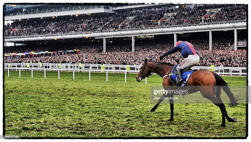 <a gi-track='captionPersonalityLinkClicked' href=/galleries/search?phrase=Barry+Geraghty&family=editorial&specificpeople=198943 ng-click='$event.stopPropagation()'>Barry Geraghty</a> riding Bobs Worth win The Betfred Cheltenham Gold Cup Steeple Chase during Cheltenham Gold Cup Day at Cheltenham racecourse on March 15, 2013 in Cheltenham, England.